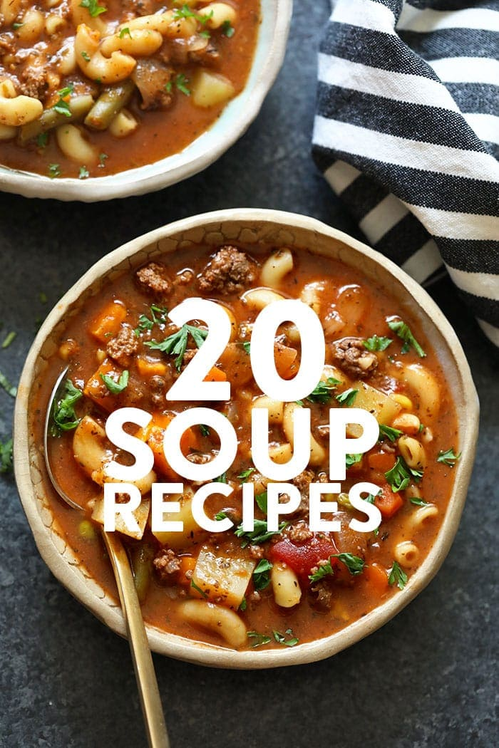 20 Healthy Soup Recipes Gluten Free And Vegan Fit