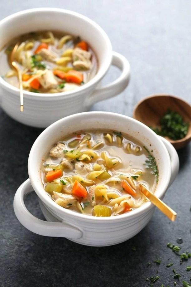 Chicken Noodle Soup Slow Cooker recipe