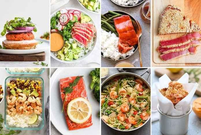 healthy seafood dinner ideas