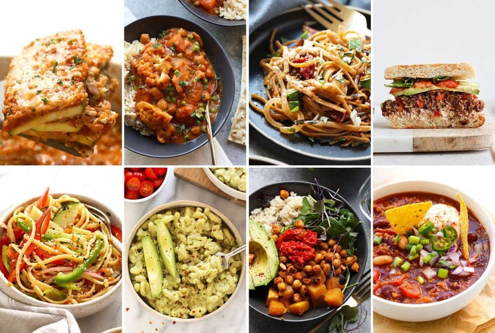healthy vegetarian dinner ideas