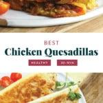 Chicken queensadillas