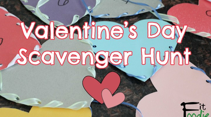 Valentine's Day Kid's Scavenger Hunt