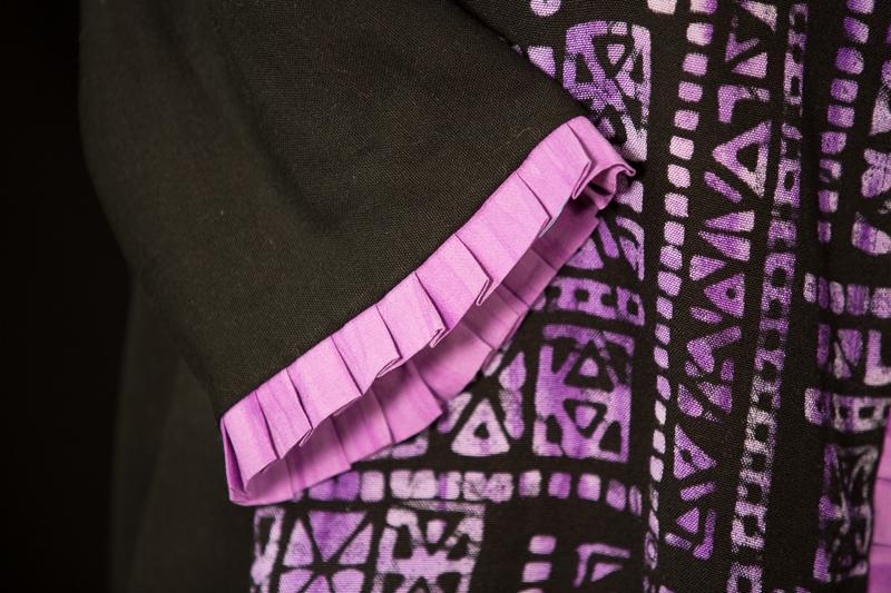 Batik Butik Amethyst - sleeve detail