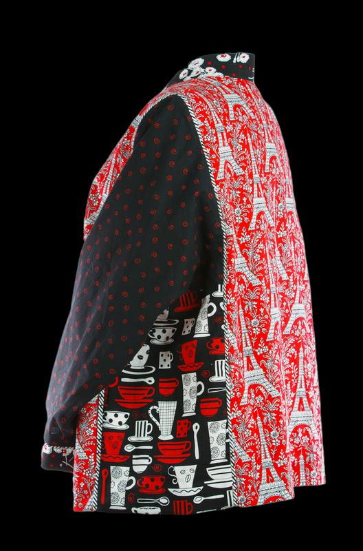 Eiffel Tower Cotton Jacket (back)
