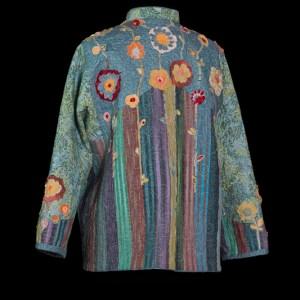 Back of Reversible Flower Garden Jacket