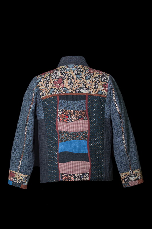 William Morris Quilted Jacket (back)