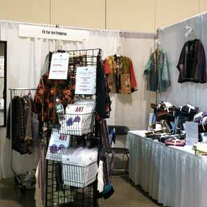 Our first booth at the American Sewing Expo in 2011