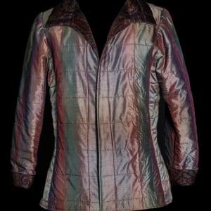 Shimmery Shirt Jacket