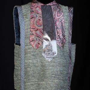 Vintage Tie Vest - back