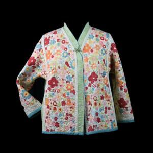 Second side of Flower Garden Jacket