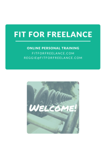 Fit for Freelance Online Personal Training