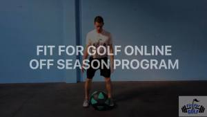 golf strength training program