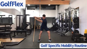 golf mobility program to increase club head speed