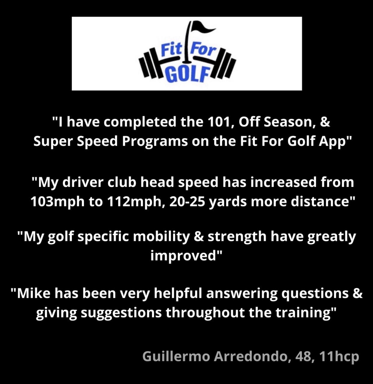 Super Speed Program Increases Club Head Speed 9 MPH