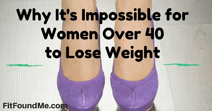 women over 40 to lose weight