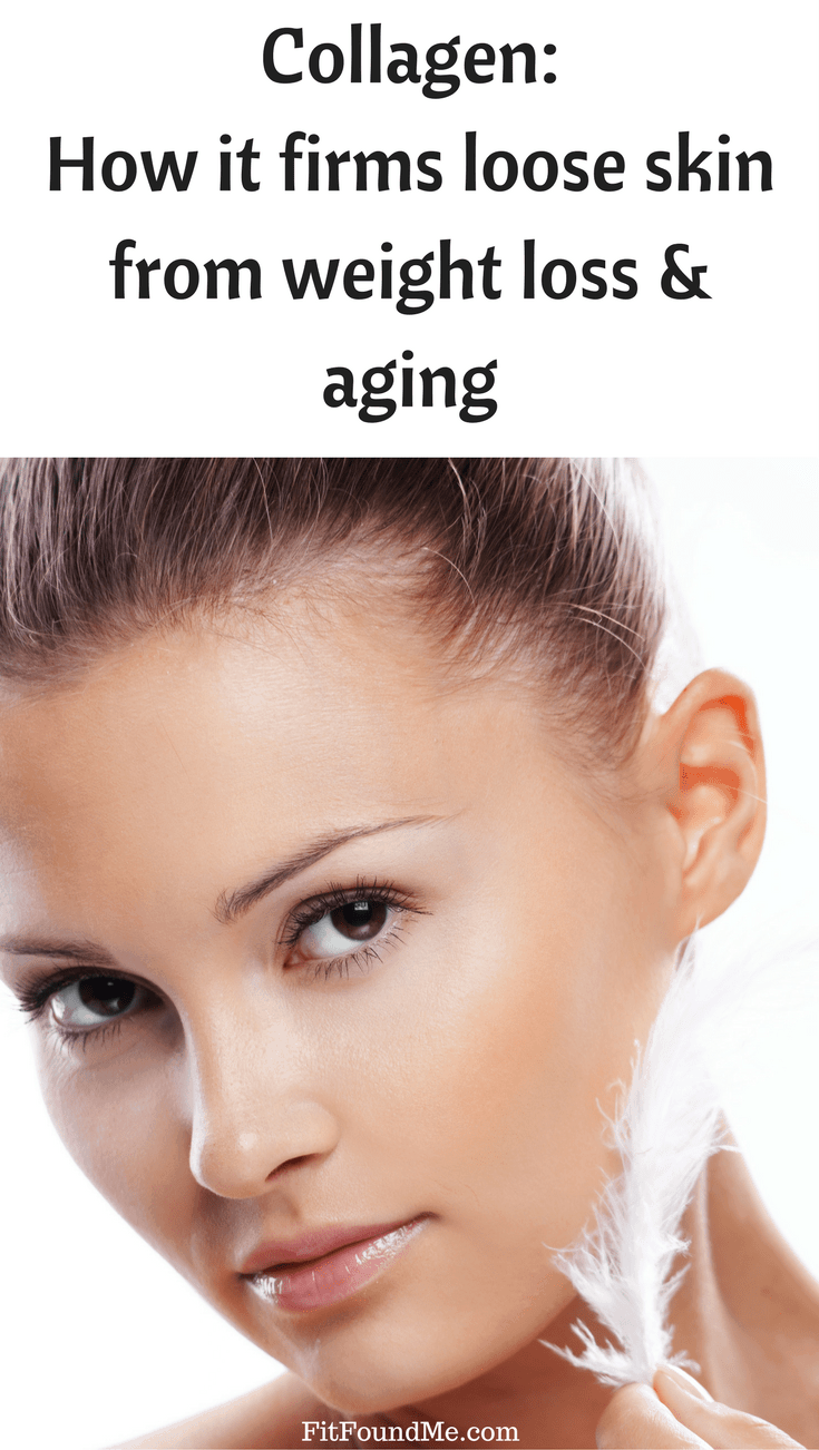 woman with beautiful skin from taking collagen daily