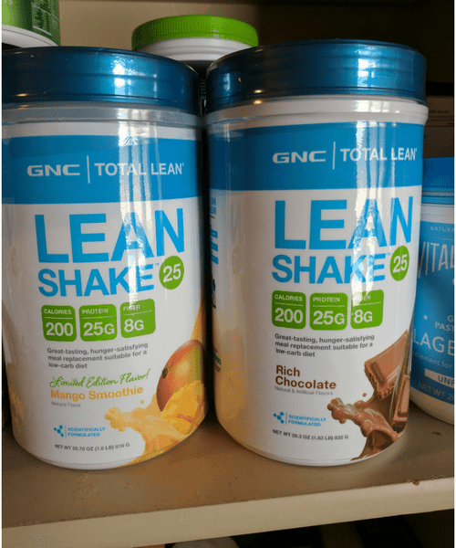 favorite pantry supplements lean shake meal replacement