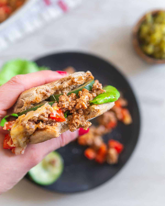 healthy ground beef recipe sloppy joes