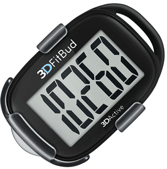 3DFitBud simple pedometer for walking
