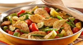 Italian Chicken and Veggie