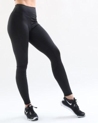 black seamless leggings fitgal