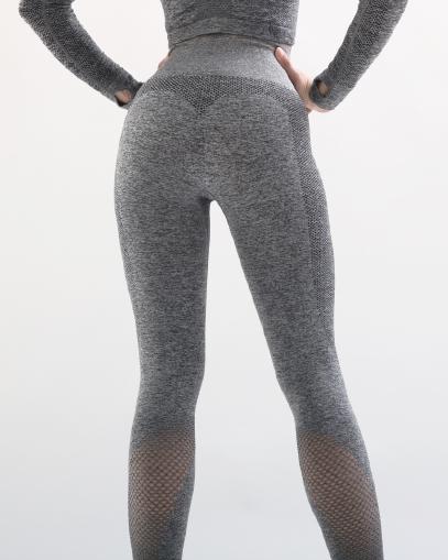 dark grey seamless leggings fitgal