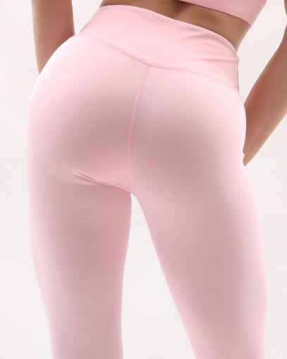 pale pink seamless leggings