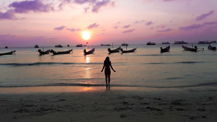 Beautiful sunset, Koh Tao
