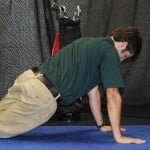 Hip Swivels Position Push-up