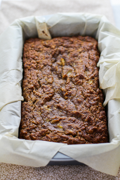 Paleo Banana Coconut Bread Loaf