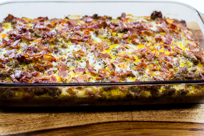 3 Meat and Sweet Potato Breakfast Casserole - paleo, gluten-free