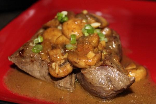 Paleo Steak Diane - a tasty steak dinner full of flavor