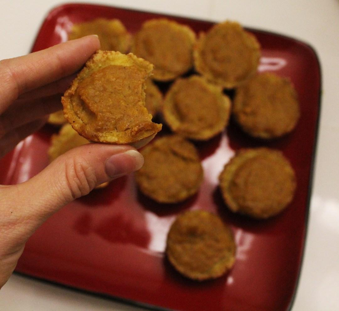Mini Gluten-Free Pumpkin Pies