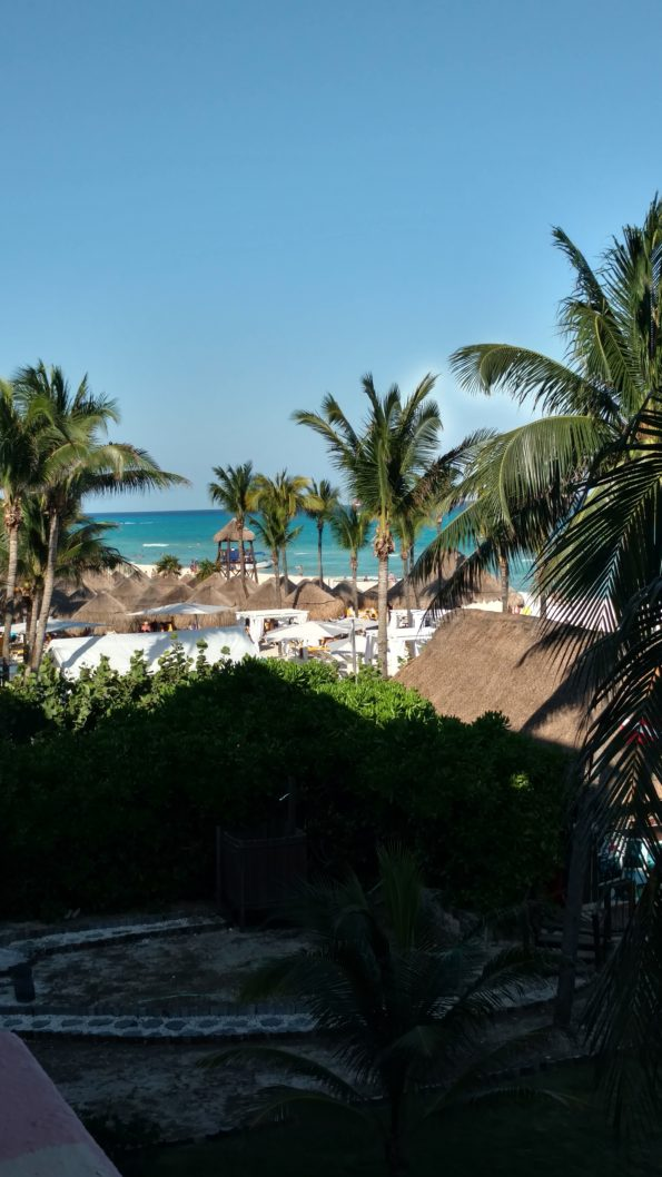 The view from our room