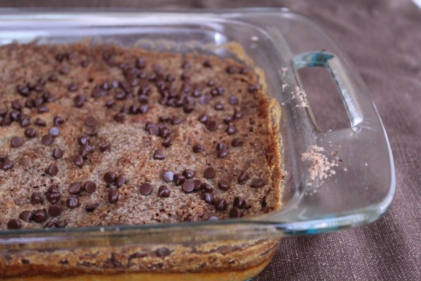 You can add some Enjoy Life Chocolate Chips over the top if you wish to add a little sweetness, although I felt it tasted great without them!