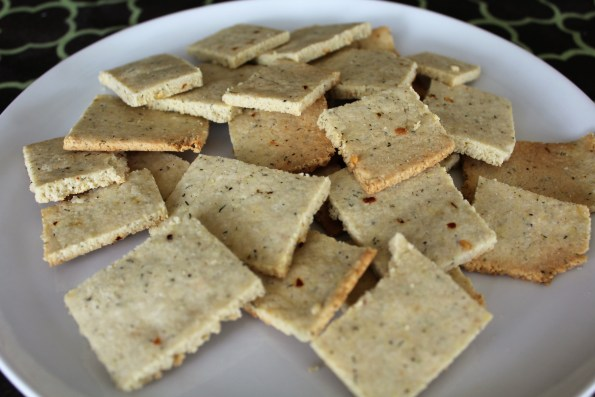 Zesty Gluten free Butter Crackers - a simple, tasty gluten-free snack for your parties!