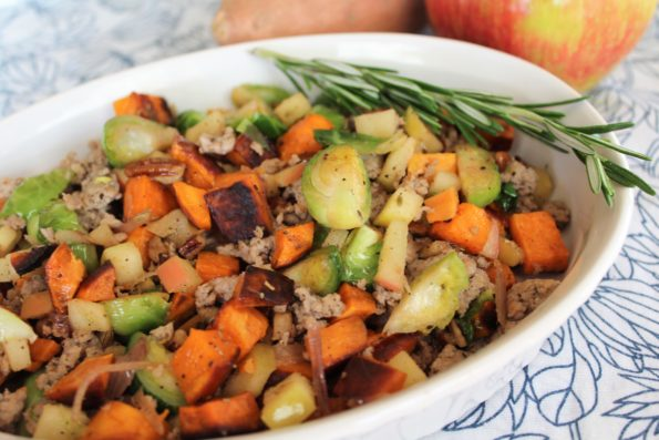 Harvest Breakfast Hash - Whole 30, paleo