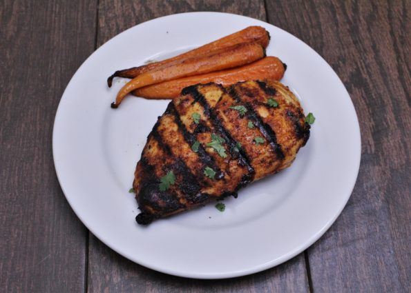 8ca34bd7b1e14 Paleo Spicy Maple Grilled Chicken - a delicious blend of sweet and spicy
