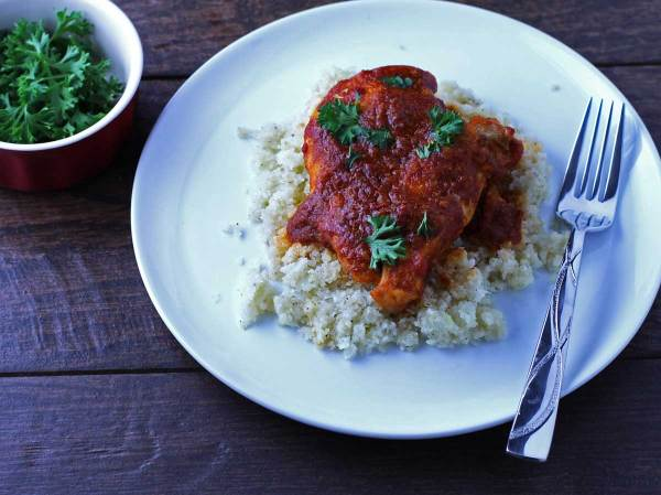 Tomato Balsamic Chicken - a simple paleo dish packed with flavor