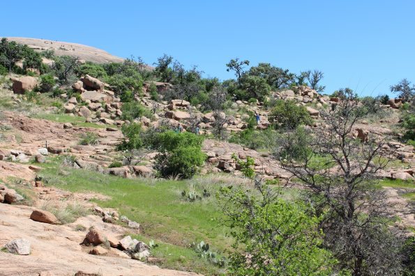 Rocky Trails at Enchanted Rock