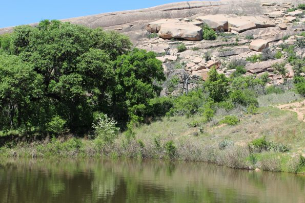 Moss Lake at Enchanted Rock State Natural Area
