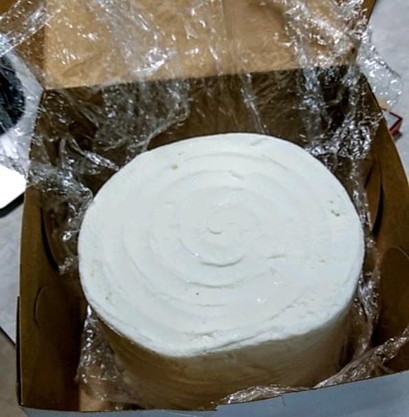 Year-old wedding cake