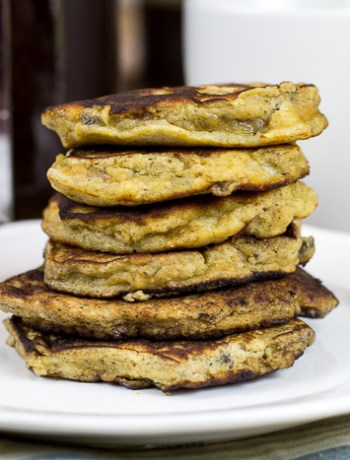 Paleo Fluffy Banana Pancakes