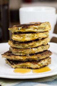 Paleo Banana Pancakes - fluffy, healthy and delicious!