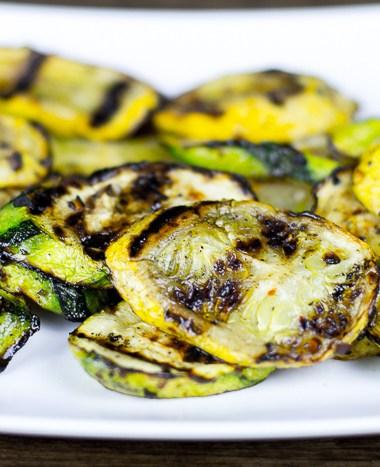 Spicy Grilled Summer Squash Recipe