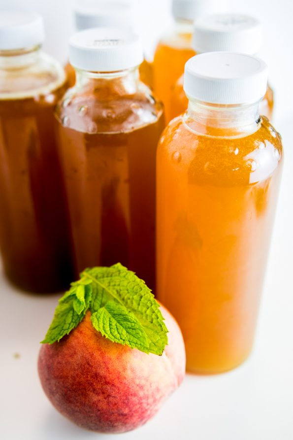 Peach Mint Kombucha