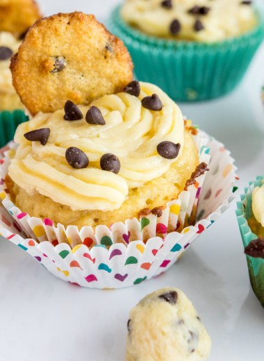 paleo cookie dough cupcakes gluten free