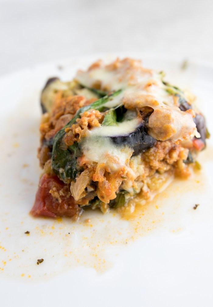 paleo eggplant casserole
