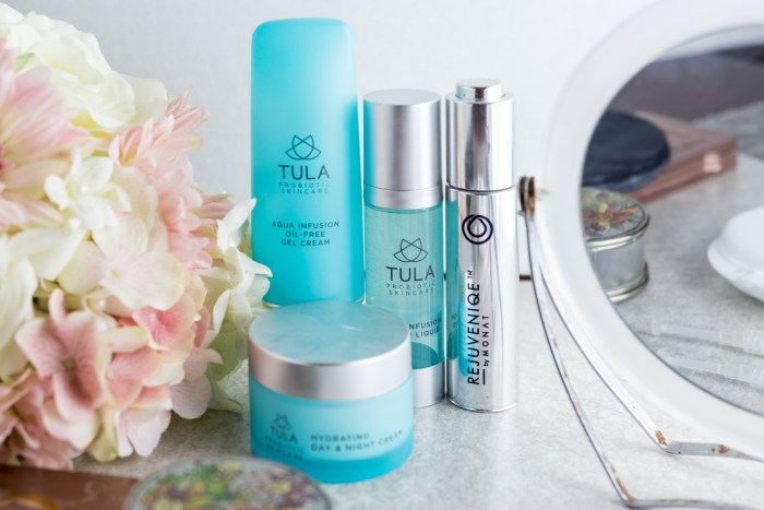 shot of tula products