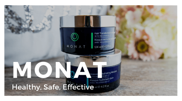 Monat Haircare products